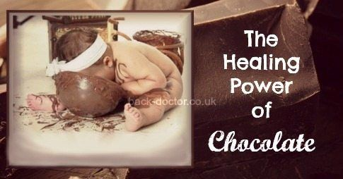 the healing power of chocolate banner